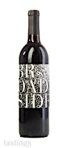 Broadside 2018 Printers Alley Red Blend Paso Robles