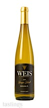 Weis Vineyards 2018 Winzer Select A, Riesling, Finger Lakes