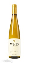 Weis Vineyards 2019  Gruner Veltliner