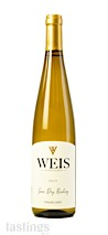 Weis Vineyards 2019 Semi-Dry, Riesling, Finger Lakes