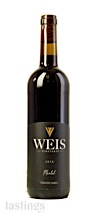 Weis Vineyards 2018  Merlot