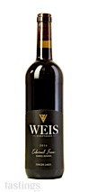 Weis Vineyards 2016 Barrel Reserve, Cabernet Franc, Finger Lakes