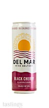 Del Mar Wine Seltzer NV Black Cherry, California