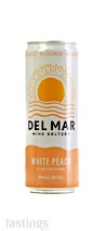 Del Mar Wine Seltzer NV White Peach, California