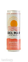 Del Mar Wine Seltzer NV Grapefruit, California