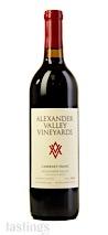 Alexander Valley Vineyards 2018 Estate Cabernet Franc