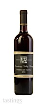 Armstrong Valley Winery 2018 Estate Reserve Cabernet Franc