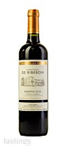 Chateau de Ribebon 2018 Reserve Red Blend Bordeaux Supèrieur