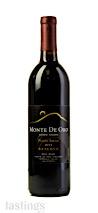 Monte De Oro 2015 Estate Grown Reserve Monte De Oro Vineyard Petite Sirah