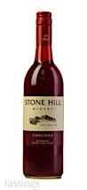 Stone Hill NV  Concord
