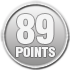 89 points